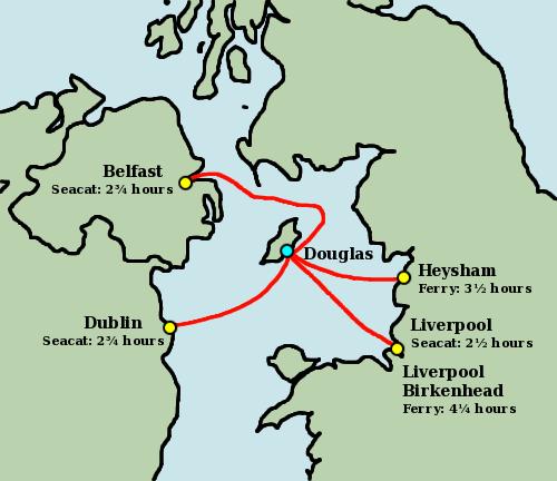 Belfast to isle of man ferry