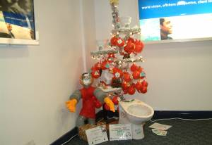 Festival of Trees 2004 - Toilet Tree - Tree 11