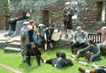 Peel Castle Battle Re-Enactment
