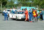 Rally Competitors at the Manx National Rally