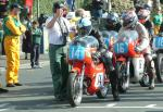 Tony Myers (number 14) at Start Line, Douglas.