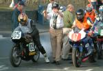 Mervyn Stratford (number 105) at Start Line, Douglas.