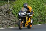 Craig Atkinson leaving Tower Bends, Ramsey.