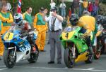 Paul Duckett (number 4) at Start Line, Douglas.
