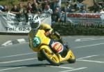 Robert Dunlop at Quarterbridge, Douglas.