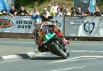 John McGuinness at Quarterbridge, Douglas.