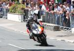 Michael Dunlop at Parliament Square, Ramsey.