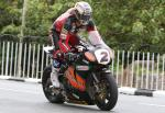 John McGuinness at Ballaugh Bridge.