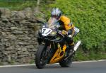 Ian Pattinson leaving Tower Bends, Ramsey.