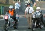 Mark Braithwaite (left) at Start Line, Douglas.