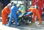 Ian Lougher in the Pits, Douglas.