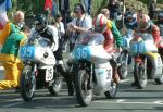 Keith Dixon (number 36) at Start Line, Douglas.