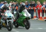 Dave Madsen-Mygdal at the TT Grandstand.