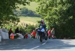 John Crellin at Ballaugh Bridge.