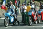 Mark Herbertson (number 24) at Start Line, Douglas.