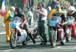 Glyn Jones (number 27) at Start Line, Douglas.