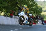Chris McGahan at Ballaugh Bridge.
