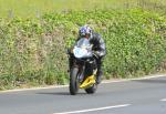 Michael Hose leaving Tower Bends, Ramsey.