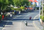 Ian Lougher on Bray Hill, Douglas.