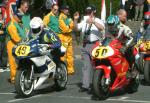Rodger Wibberley (number 49) at Start Line, Douglas.
