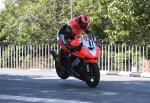 Ryan Farquhar at Ballaugh Bridge.