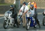 Roy Phipps (number 36) at Start Line, Douglas.