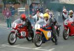 John Goodall (7) at the Practice Start Line, Douglas.