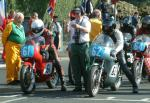 Dave Dock (number 61) at Start Line, Douglas.