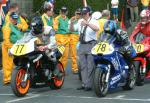 Billy Hughes (number 78) at Start Line, Douglas.