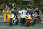 John Quail (88) at the Start Line, Douglas.