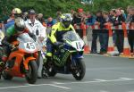 Paul Duckett at the TT Grandstand.