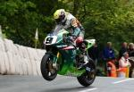 Ian Lougher at Ballaugh Bridge.