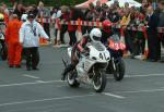 John Read (number 41) leaving Start Line, Douglas.