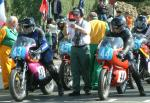 Grant Sellars (number 44) at Start Line, Douglas.