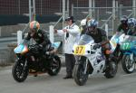 Keith McKay (87) during practice, leaving the Grandstand, Douglas.