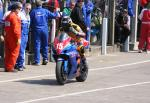 Guy Martin in the pits, Douglas.
