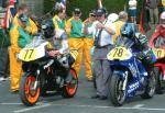 Darren Read (number 77) at Start Line, Douglas.