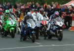 Martin Finnegan (number 21) leaving Start Line, Douglas.