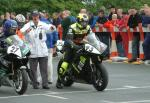 John Donnan at the TT Grandstand.