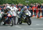 Thierry Demoly at the TT Grandstand.