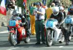 Dave Madsen-Mygdal (on left) at Start Line, Douglas.