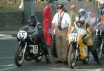 Iwan Spicher (number 65) at Start Line, Douglas.