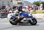 Mike Crellin at Ballaugh Bridge.