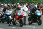 Barry Wood at the TT Grandstand.