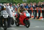 Kevin Murphy at the TT Grandstand.