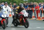 Ian Smith at the TT Grandstand.