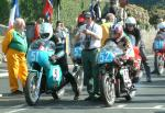 Marek Wieckowski (number 52) at Start Line, Douglas.