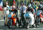 Maurice Wilson (number 20) at Start Line, Douglas.