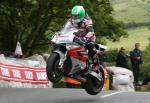 Richard Britton at Ballaugh Bridge.