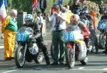 Karl Wilkie (number 38) at Start Line, Douglas.